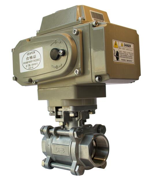 Photo Detail for 2-way Electric Threaded Ball Valve-45 angle.jpg