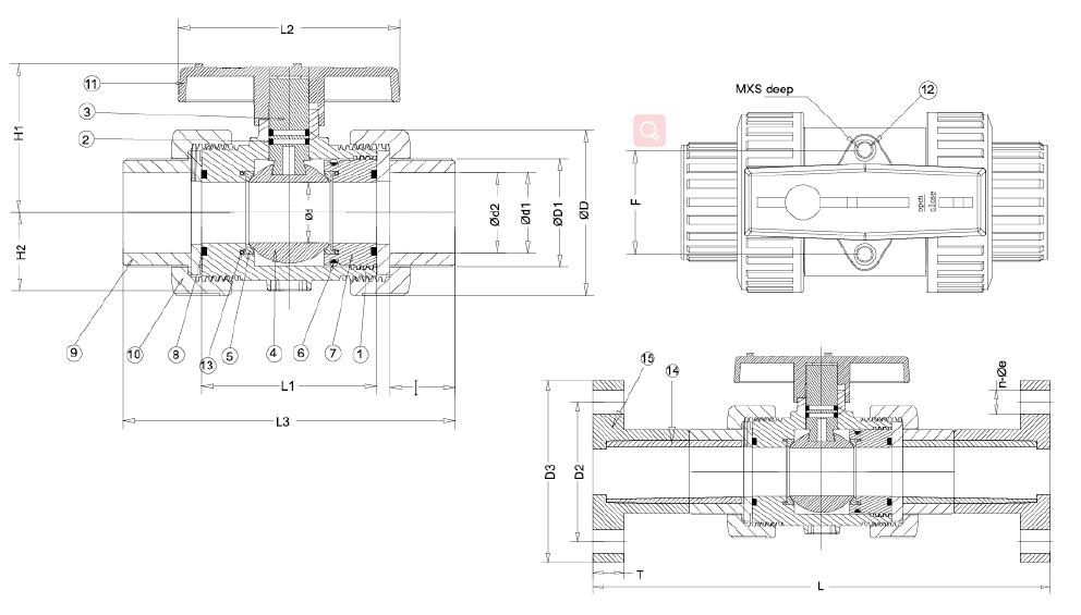 CAD for Flanged and Double Union Ball Valve.jpg